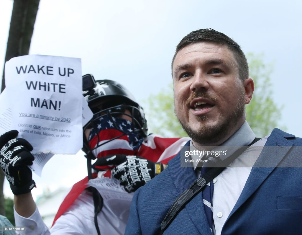 Alt Right Holds 'Unite The Right' Rally In Washington, Drawing Counterprotestors : News Photo