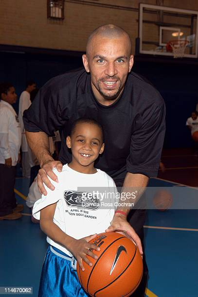 Jason Kidd and Billy House during Jason Kidd Hosts The Jordan Basketball Clinic at The Children's Aid Society at Children's Aid Society Dunlevy...