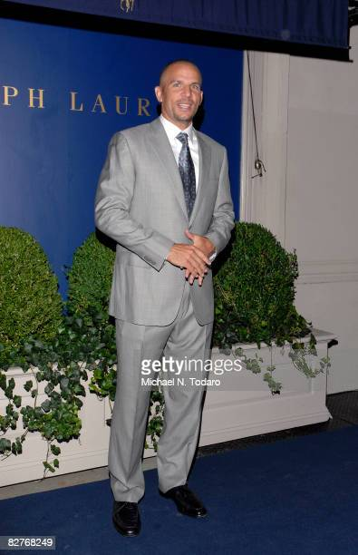 Jason Kidd attends the Lebron James Family Foundation Benefit for an evening of cocktails and private shopping at the Ralph Lauren Mansion on...