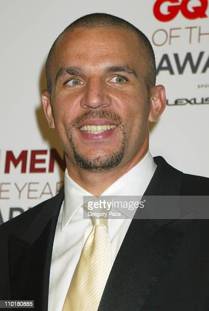 Jason Kidd during 2002 GQ Men of the Year Awards at Hammerstein Ballroom in New York City New York United States