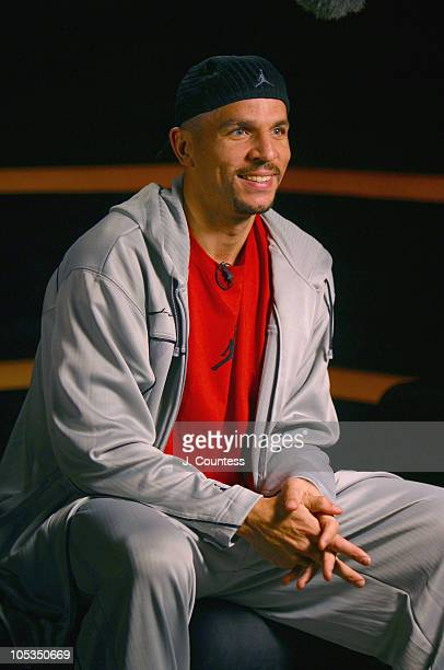 Jason Kidd during Jordan Spring/Summer 2004 Collection Show and Party at Cielo in New York City New York United States