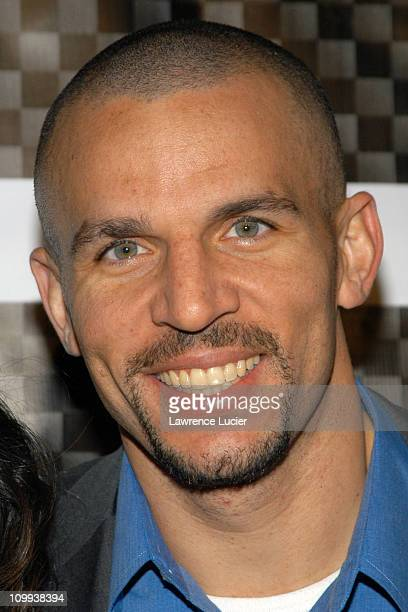 Jason Kidd during Launch Party For XCD Men's Skin Care at 40/40 in New York City New York United States