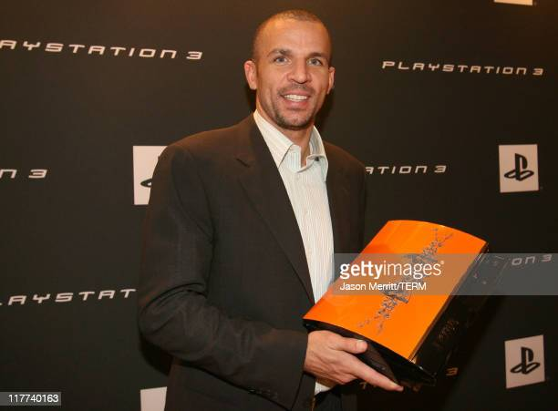 Jason Kidd during Playstation Parlor Hosted by Sony Computer Entertainment America Day 2 at The Palms Sky Villa in Las Vegas Nevada United States