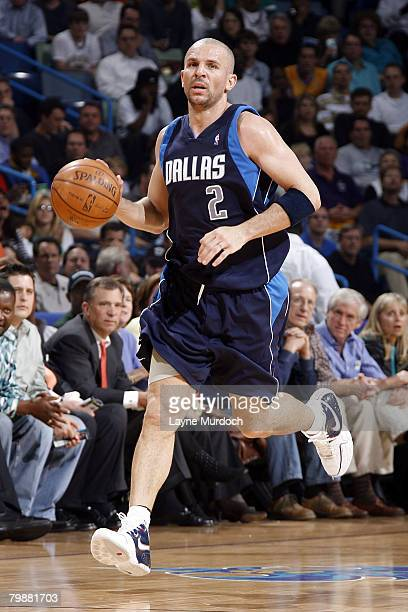 6474bfdc82c5 Jason Kidd of the Dallas Mavericks drives against the New Orleans Hornets  on February 20 2008