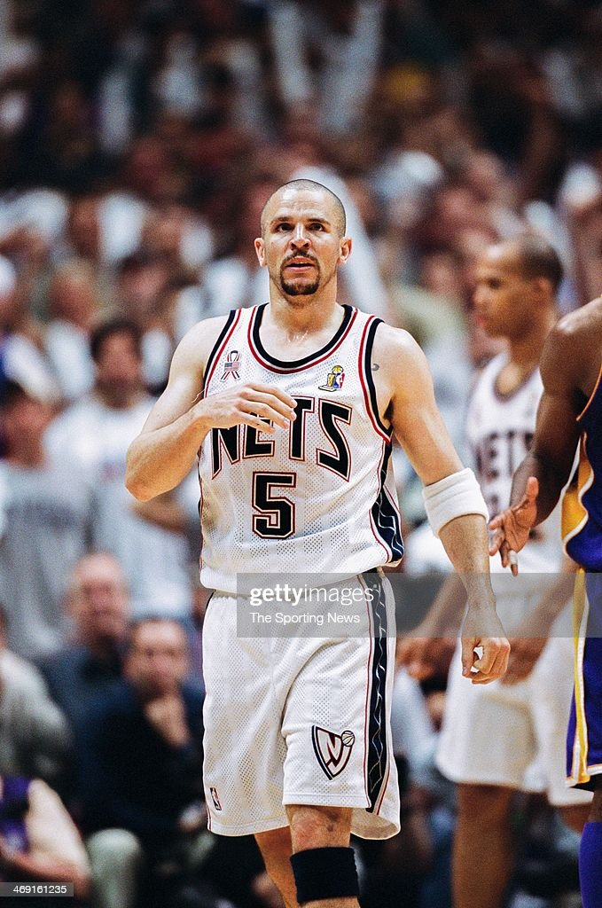 43d0e961 Jason Kidd of the New Jersey Nets during Game Three of the NBA ...