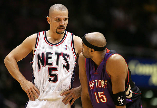 official photos 4c3c1 733a4 Vince Carter Traded To The New Jersey Nets Photos and Images ...