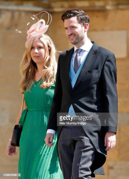 Jason Knauf Communications Secretary to The Duke and Duchess of Cambridge and The Duke and Duchess of Sussex attends the wedding of Prince Harry to...
