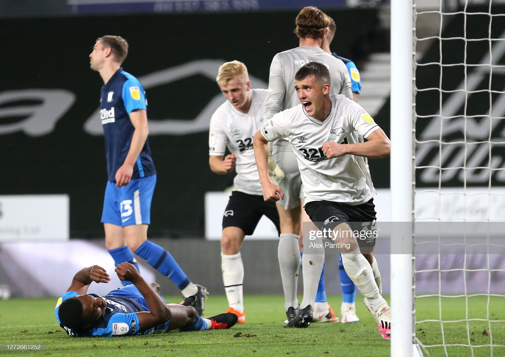 Derby County v Preston North End - Carabao Cup Second Round : News Photo