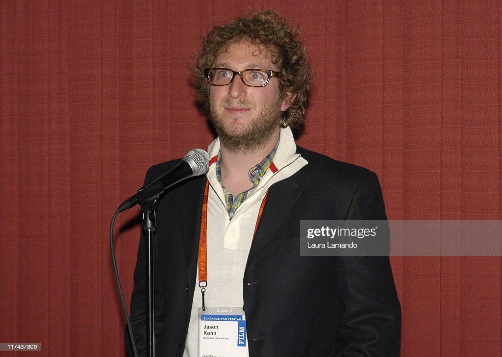Jason Kohn, director during 2007 Sundance Film Festival - 'Manda