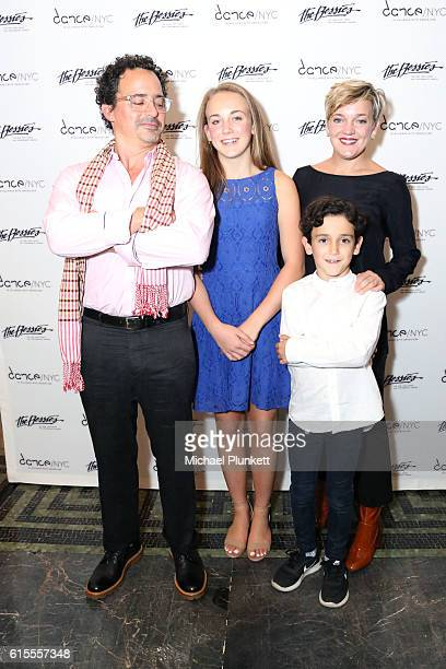 Jason Lear Maggie Lear Holly Batt and Hammet Lear attend The 32nd Annual New York Dance and Performance Awards The Bessies at BAM Howard Gilman Opera...