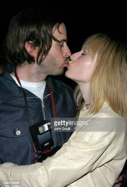 Jason Lee and Beth Riesgraf during America Motel Alex Prager Beth Riesgraf and Mercedes Helnwein Art Show at America Motel in Los Angeles California...