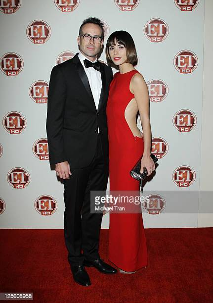 Jason Lee and Ceren Alkac arrive at Entertainment Tonight's 15th Annual Emmy party held at Vibiana on September 18 2011 in Los Angeles California