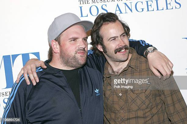 Jason Lee Ethan Suplee and Jason Lee during The Museum of Television Radio Presents The TwentyThird Annual William S Paley Television Festival An...