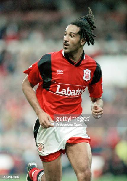 Jason Lee of Nottingham Forest in action during the FA Carling Premiership match between Nottingham Forest and Everton at the City Ground on...