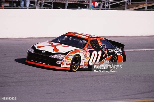 Jason Leffler drives his car during the Daytona 500 at the Daytona International Speedway on February 16 2001 in Daytona Beach Florida