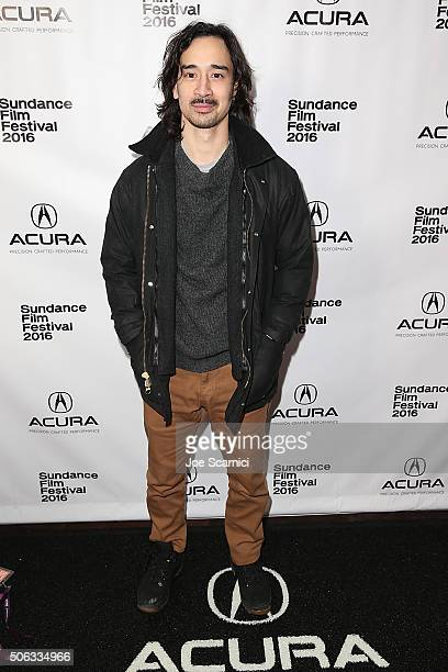 Jason Lew arrives at Swiss Army Man Premiere Party at The Acura Studio at Sundance Film Festival 2016 on January 22 2016 in Park City Utah