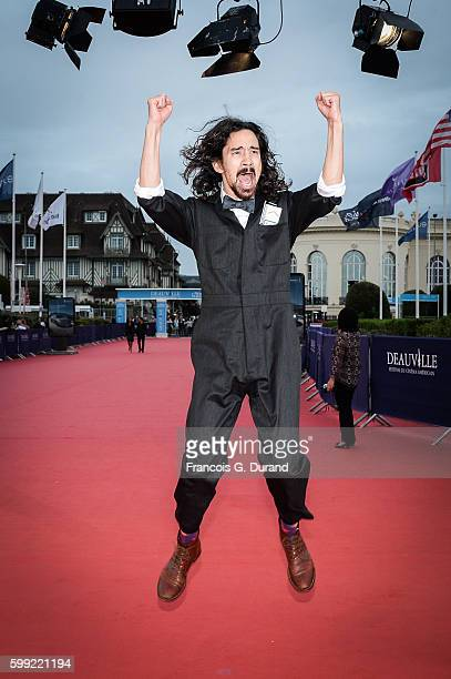 Jason Lew attends the Where To Invade Next Premiere during the 42nd Deauville American Film Festival on September 4 2016 in Deauville France