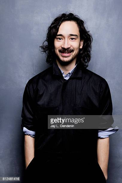 Jason Lew of the film 'The Free World' poses for a portrait at the 2016 Sundance Film Festival on January 24 2016 in Park City Utah CREDIT MUST READ...