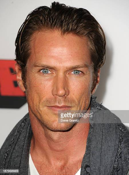 "Jason Lewis arrives at the ""Machete Kills"" - Los Angeles Premiere at Regal Cinemas L.A. Live on October 2, 2013 in Los Angeles, California."