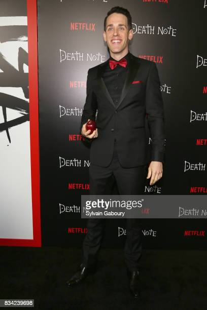 Jason Liles attends Death Note New York Premiere at AMC Loews Lincoln Square 13 theater on August 17 2017 in New York City