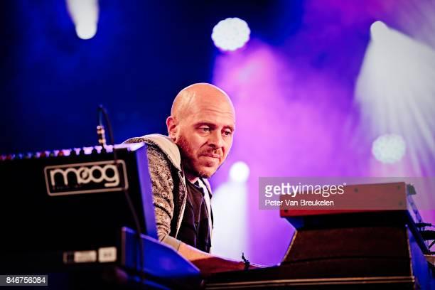 Jason Lindner Performs at Jazz Middelheim Festival on August 04 2017 in Antwerp Belgium
