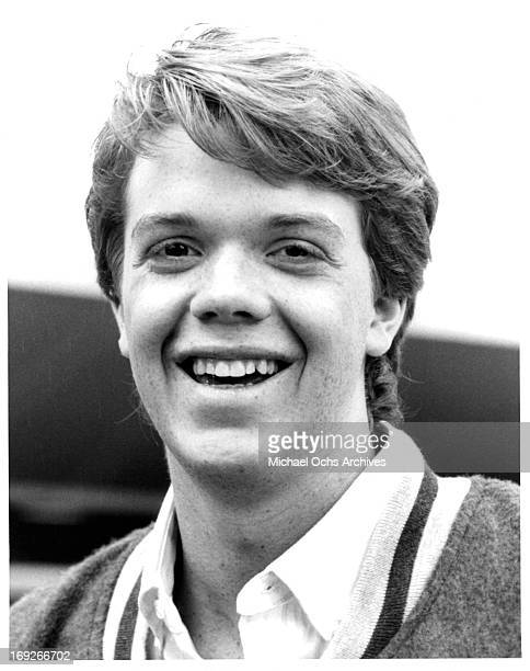 Jason Lively publicity portrait for the film 'Night Of The Creeps' 1986