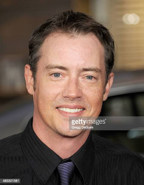 Jason London arrives at the Los Angeles premiere of 'A Haunted House 2' at Regal Cinemas LA Live on April 16 2014 in Los Angeles California