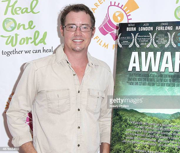 Jason London attends the Premiere of 'Awaken' during the 2015 Awareness Film Festival at Regal 14 at LA Live Downtown on September 10 2015 in Los...