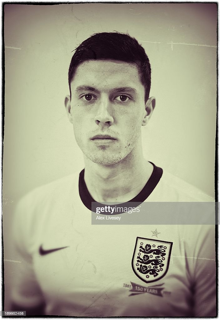 Jason Lowe of England Under-21s poses for a portrait at St Georges Park on March 19, 2013 in Burton-upon-Trent, England.