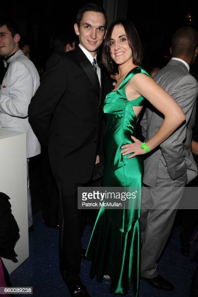 Jason Lynch and Claire Sirianna attend THE HUFFINGTON POST PreInaugural Ball at The Newseum on January 19 2009 in Washington DC