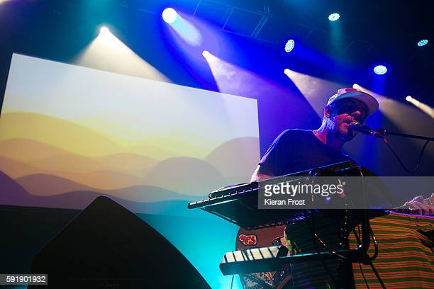 Jason Lytle of Grandaddy performs at Vicar Street on August 18 2016 in Dublin Ireland
