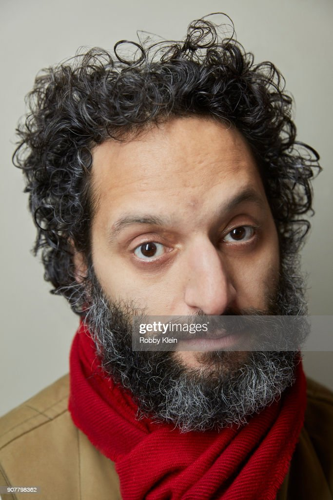 Jason Mantzoukas from the film 'The Long Dumb Road' poses for a portrait at the YouTube x Getty Images Portrait Studio at 2018 Sundance Film Festival on January 19, 2018 in Park City, Utah.