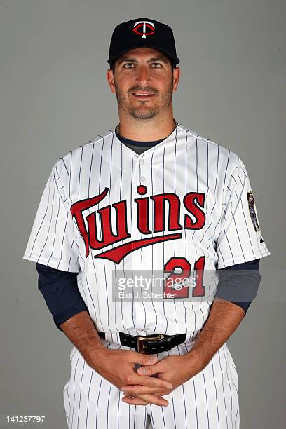 Jason Marquis of the Minnesota Twins poses during Photo Day on Monday February 27 2012 at Hammond Stadium in Fort Myers Florida