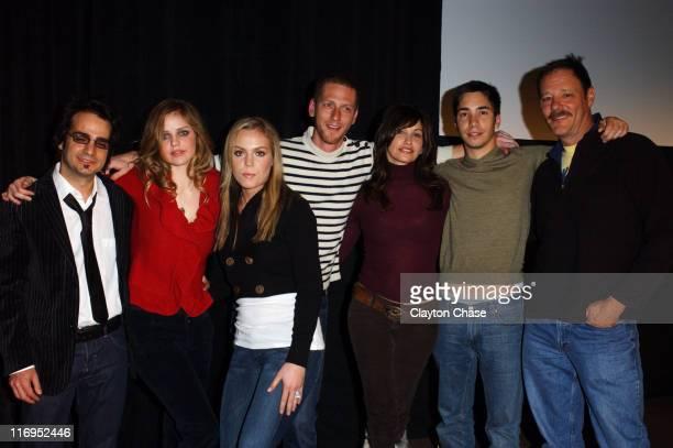 Jason Matzner director with Kelli Garner Agnes Bruckner Brian Klugman Gina Gershon Justin Long and Chris Mulkey
