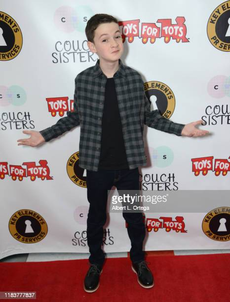 Jason Maybaum attends The Couch Sisters 1st Annual Toys For Tots Toy Drive held onNovember 20 2019 in Glendale California