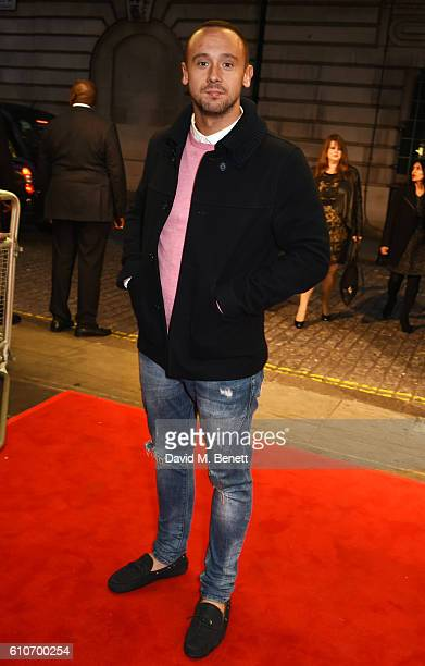 Jason Maza attends a charity screening of Urban Hymn in support of NSPCC Childline at The Curzon Mayfair on September 27 2016 in London England