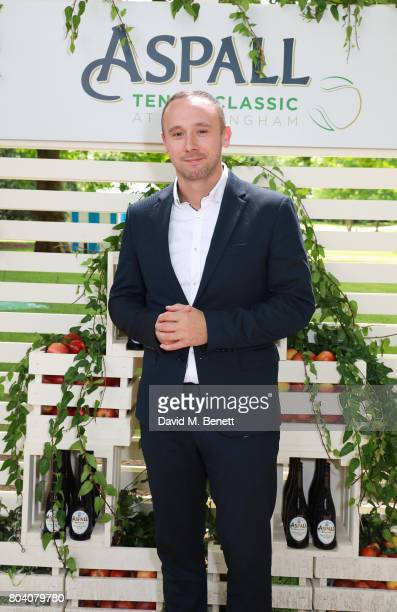 Jason Maza attends the Aspall Tennis Classic at The Hurlingham Club on June 30 2017 in London England
