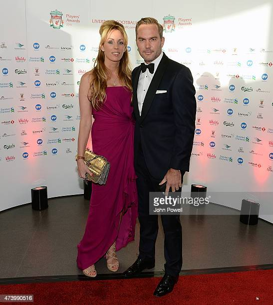 Jason Mcateer ex player of Liverpool arrives at the Liverpool Player of the Year Awards on May 19 2015 in Liverpool England
