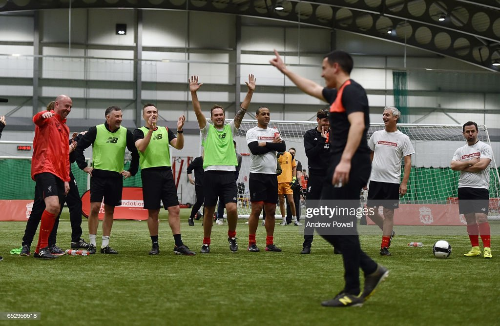 Liverpool Legends Training Session