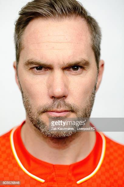 Jason McAteer poses during a portrait session on January 6 2016 in Sydney Australia