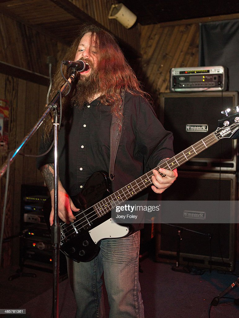 Jason McCash of The Gates Of Slumber performs at Indy's Jukebox on April 6, 2014 in Indianapolis, Indiana.