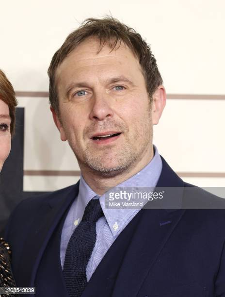 Jason Merrells attends the Military Wives UK Premiere at Cineworld Leicester Square on February 24 2020 in London England