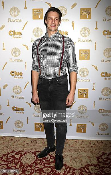 Jason Michael Snow attends 'Clue' 30th Anniversary Celebration at The Players Theatre on December 13 2015 in New York City