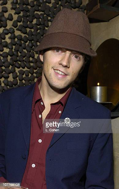 Jason Miraz during Warner Entertainment 2004 Grammy Party at Kitano Japanese Restaurant in Los Angeles CA United States