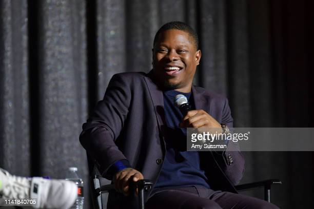 Jason Mitchell attends Showtime's The Chi For Your Consideration event at Silver Screen Theater at the Pacific Design Center on April 10 2019 in West...