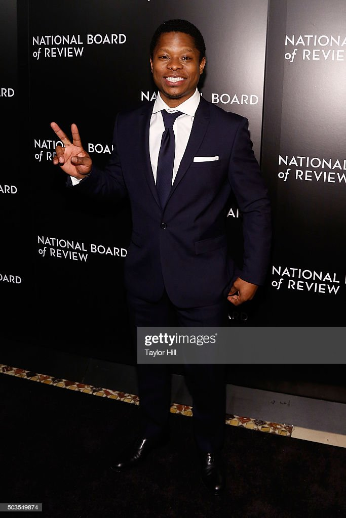Jason Mitchell attends the 2015 National Board of Review Gala at Cipriani 42nd Street on January 5, 2016 in New York City.