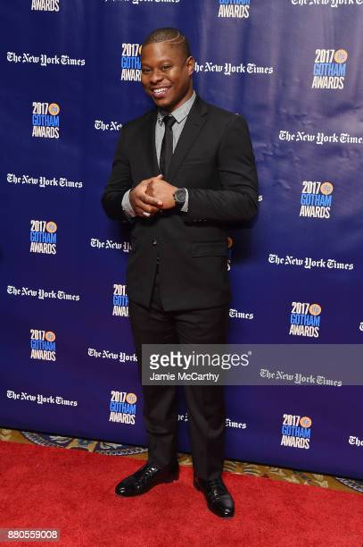 Jason Mitchell attends the 2017 IFP Gotham Awards at Cipriani Wall Street on November 27 2017 in New York City