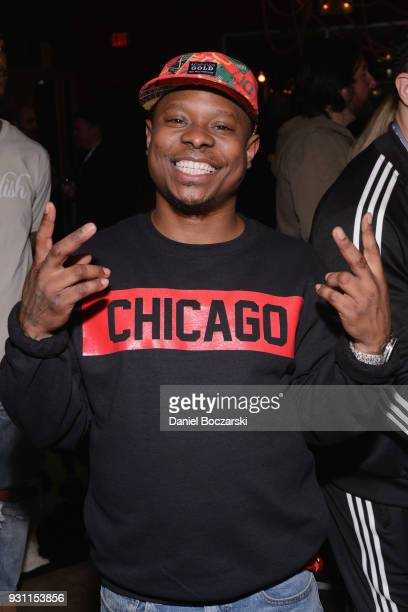 Jason Mitchell attends the afterparty following the premiere of First Match during SXSW 2018 on March 12 2018 in Austin Texas