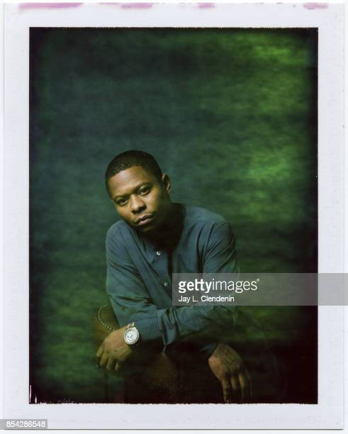 Jason Mitchell from the film 'Mudbound' is photographed on polaroid film at the LA Times HQ at the 42nd Toronto International Film Festival in...