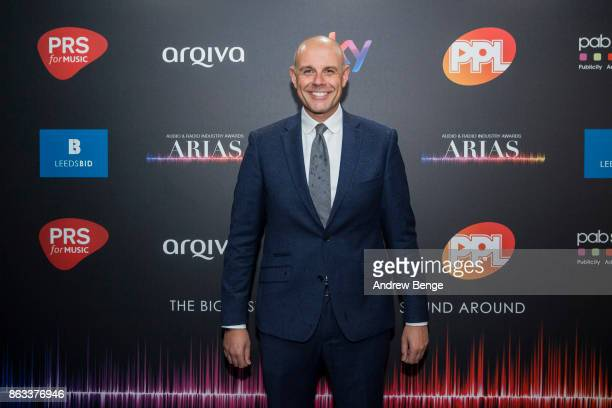 Jason Mohammed attends the Audio Radio Industry Awards at First Direct Arena Leeds on October 19 2017 in Leeds England